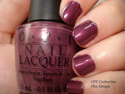 opi catherine the grape