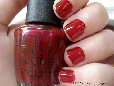 opi st petersburgundy