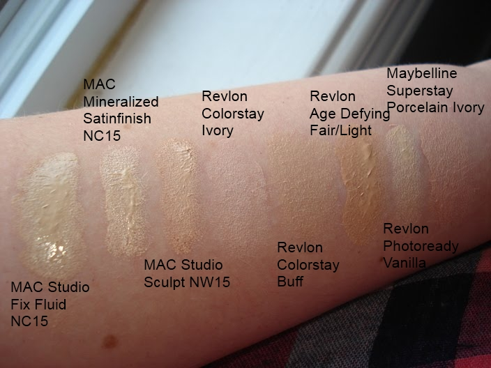 productrater the varying shades of light foundation