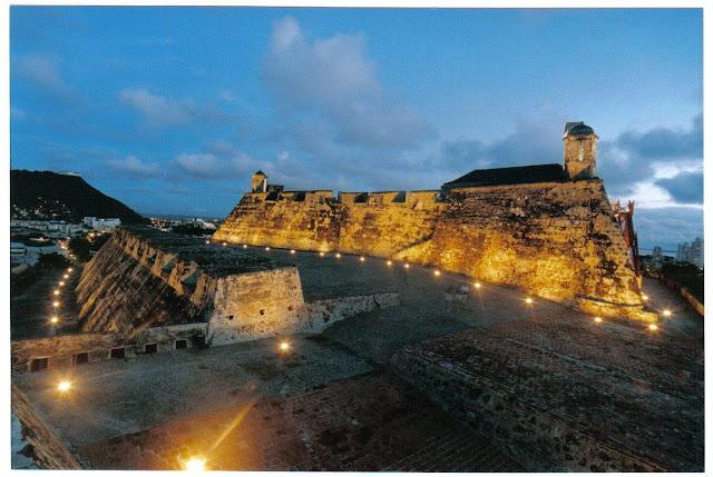 Castillo de San Felipe al atardecer