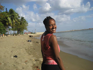 Me on the beach
