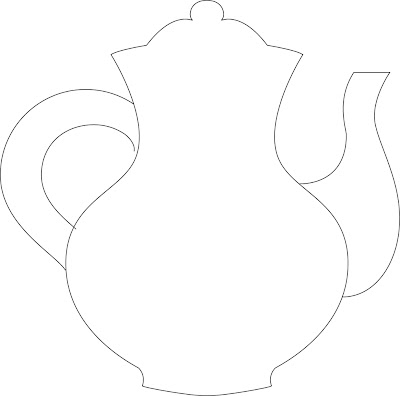 Terrible image throughout teapot template printable