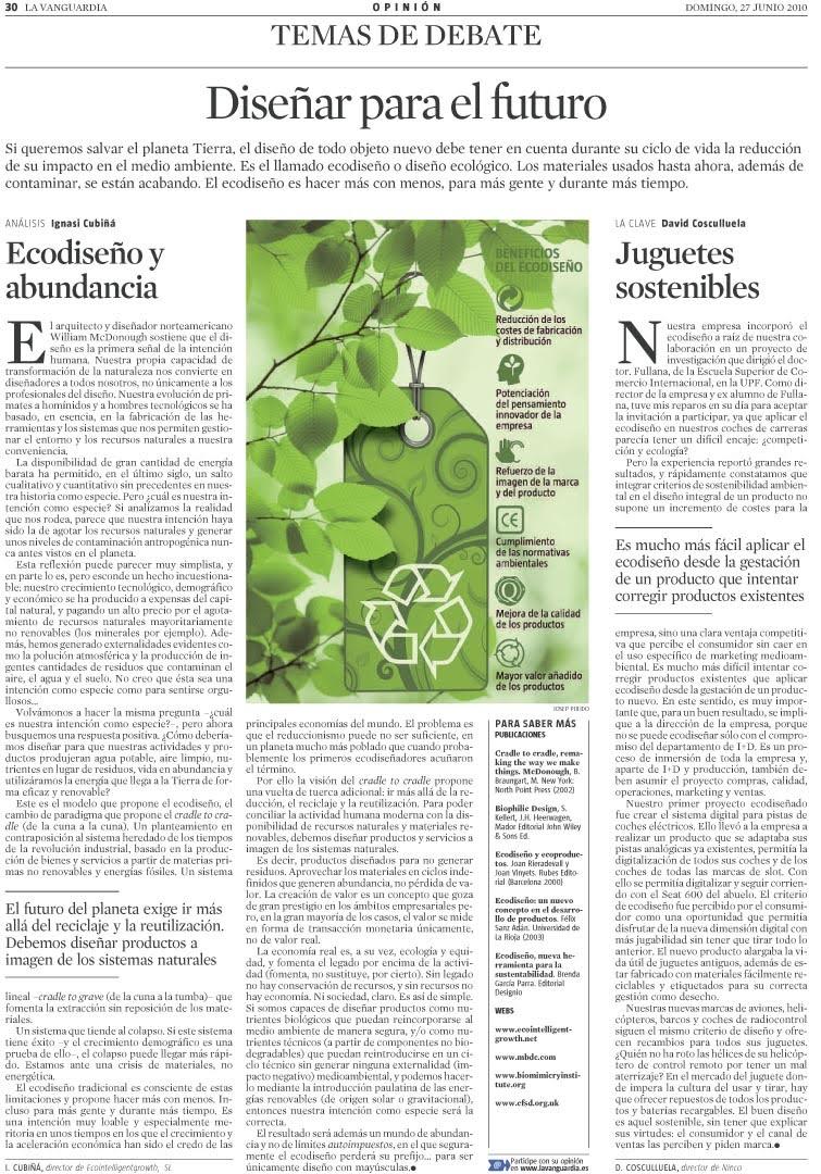 Eco intelligent growth consultoria regenerativa per la - Cubina barcelona ...