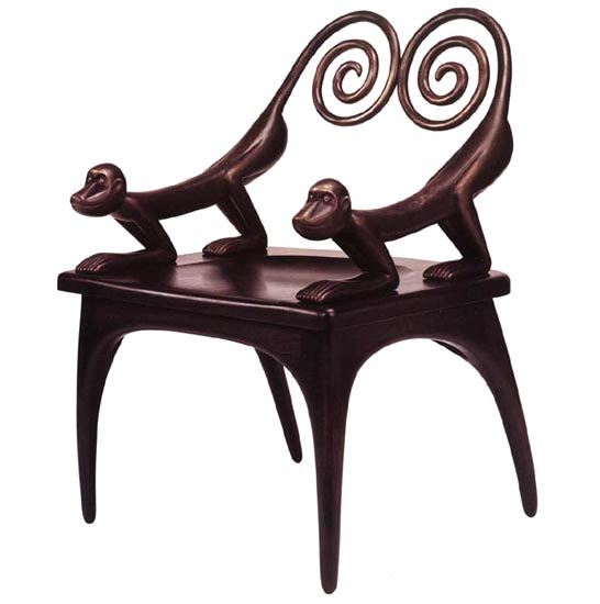 Herrick And White Blog Judy Kensley Mckie 39 S Monkey Chair Settee