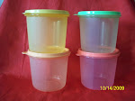 NEW TUPPERWARE 650ML SNACK CANISTER