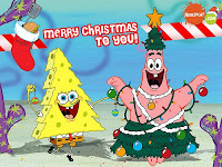 SpongeBob SquarePants Wallpapers for Christmas