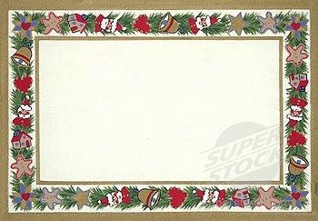 holiday card borders