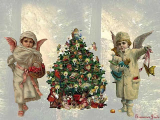 Victorian Christmas Wallpapers