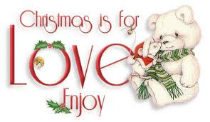 xmas love greetings wallpaper
