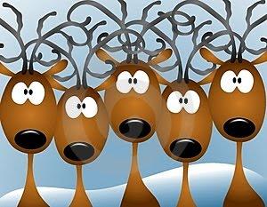Christmas Reindeer Desktop Wallpapers