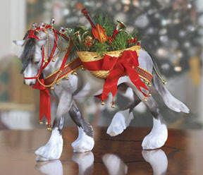 ornamental xmas horse pictures