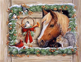 Horse Desktop Wallpapers For Christmas