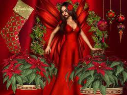 Christmas Fairy Desktop Wallpapers