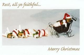 cute christmas sleigh