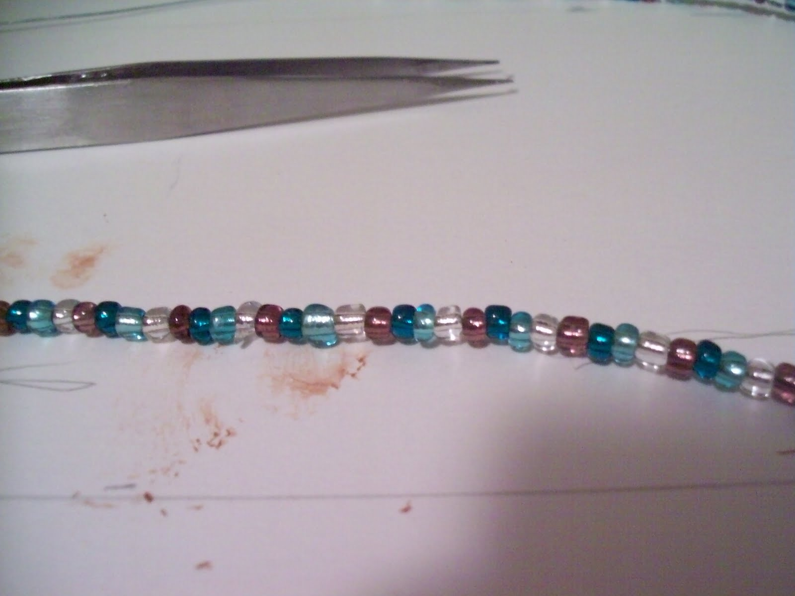 Beautiful Mini Blessings: Teal, Turquoise, Clear and Brown