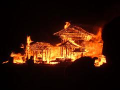 Temple Burn 2005