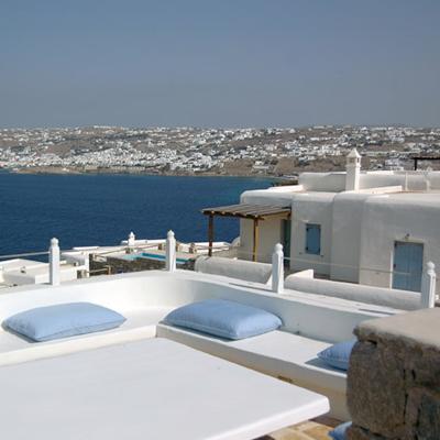 Simplicidad veraniega casas griegas etxekodeco for Casas en islas griegas