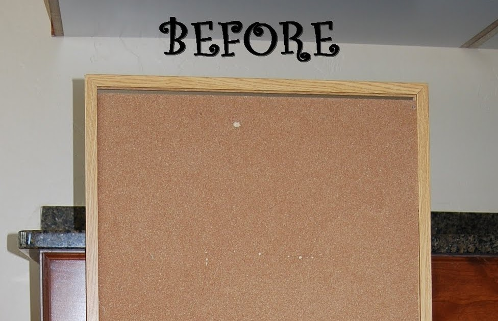 Paisley passions cork board redo for How to make a bulletin board without cork