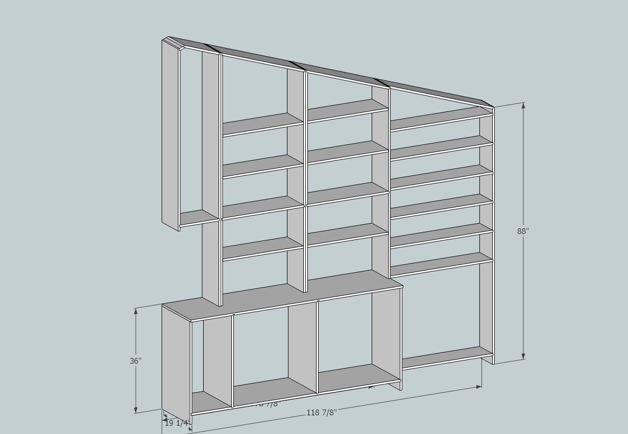 Built In Wall Unit - Part II title=