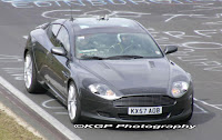 2010 Aston Martin Rapide With Glass Roof: Spy Photos