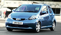 New Toyota Aygo Blue For UK