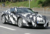 2011 Acura NSX Spy Photo