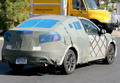 2010 Mazda3 Prototype Spy Picture