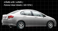 09 Honda City In Polished Metal Metallic Color