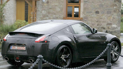 Nissan's Upcoming 370Z Pic