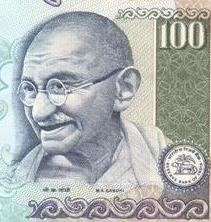 Mahatma Gandhi,Mulayam Singh 100Rs Cash for votes