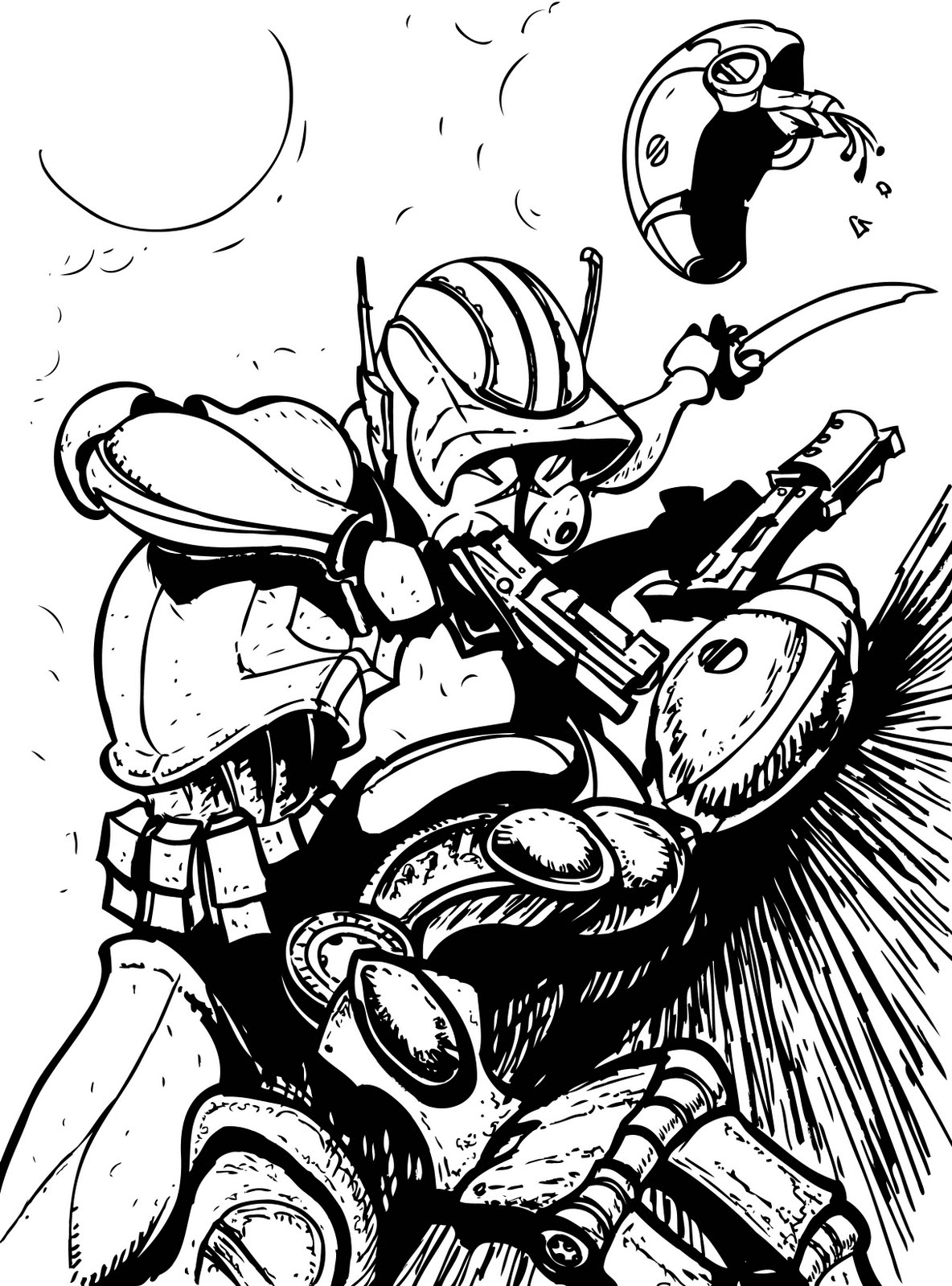 commander cody coloring pages - photo#21