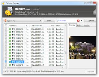 recuperar fotos imagens deletadas de cameras usb hd computador