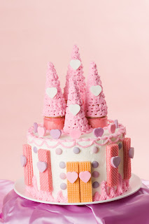 Cake Art Supplies Castle Hill : Sweet Art Factory: Princess Castle Cake