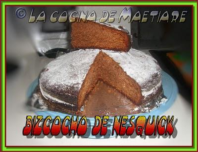 bizcocho de nesquick Bizcocho+de+nesquik
