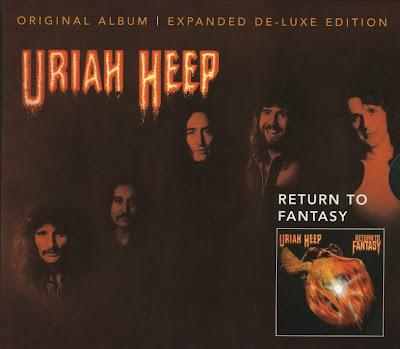 Uriah Heep ~ 1975 ~ Return To Fantasy deluxe