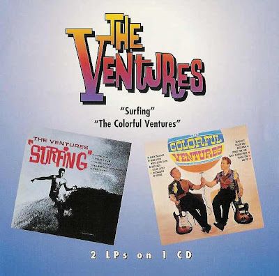 the Ventures ~ 1963c ~ Surfing + 1961c ~ The Colorful Ventures