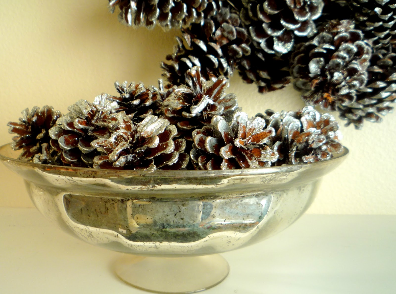 Pine Cone Bowl The Smaller Pine Cones That