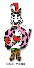 ♣ Vaca Gallo the post-modern cartoon character