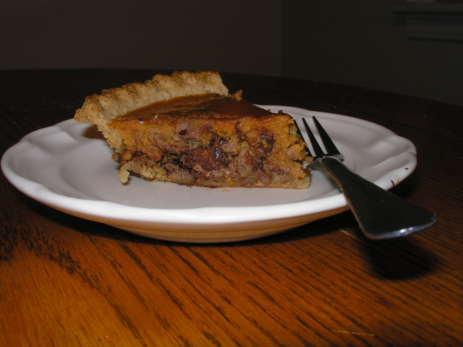 Pecan Pumpkin Pie Recipe — Dishmaps