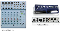 Audio interfaces by Alesis and Protools