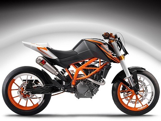 KTM Duke 125 cc Bike launched in India : Specs & Price