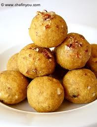 Besan Ladoo Recipe With Video