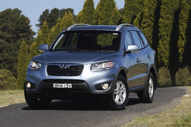 Hyundai Santa Fe SUV 2010 in India : Launch date, Price & Specs