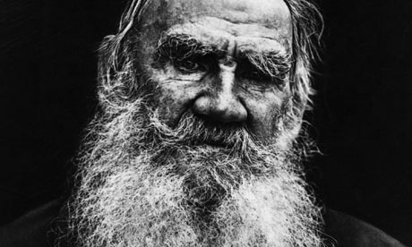 Leo Tolstoy in 1908. Photograph: Hulton Getty