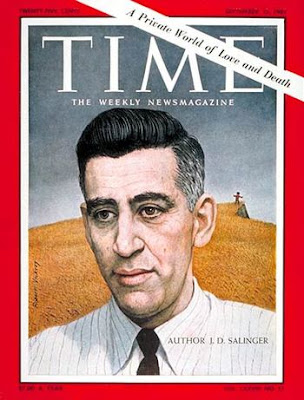 J. D. Salinger on the cover of Time Magazine