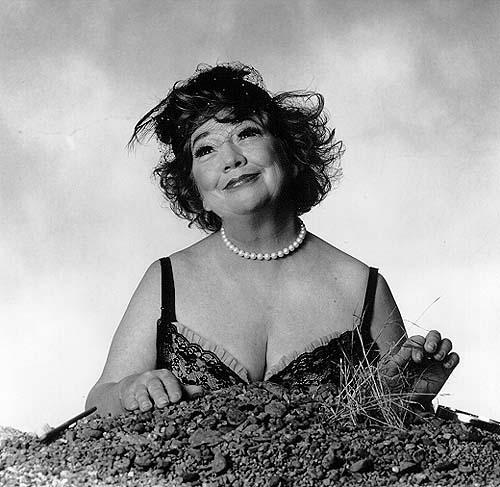Ruth Maleczech as Winnie in Samuel Beckett's 'Happy Days'