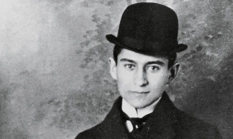 Franz Kafka in 1905. Photograph: Getty Images