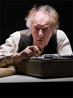 Michael Gambon in Samuel Beckett's 'Krapp's Last Tape' at the Gate Theatre