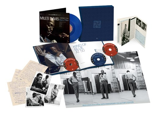 Miles Davis, 'Kind of Blue 50th Anniversary boxset