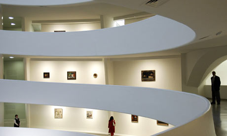 Guggenheim Museum in New York. Photograph: Timothy A Clary/AFP/Getty Images